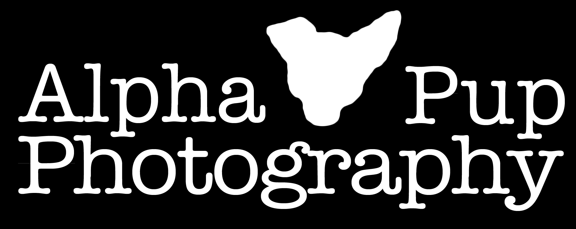 Alpha Pup Photography Logo