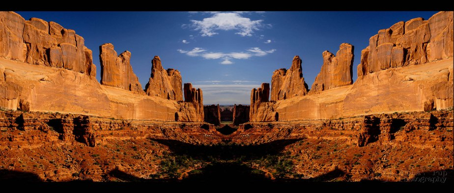 Arches National Park - Park Avenue (Built Image)