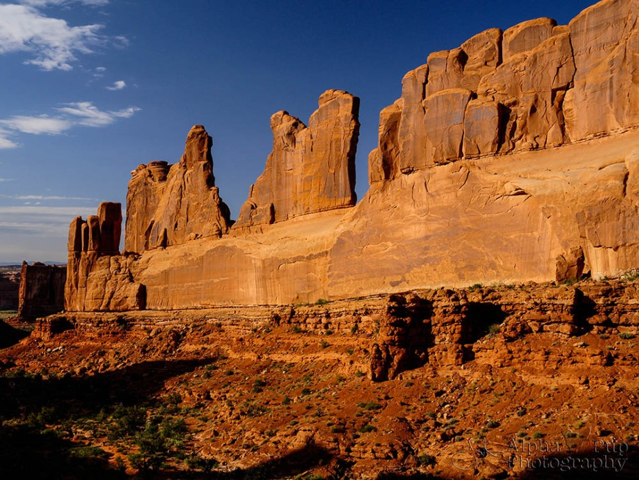 Arches National Park - Park Avenue (Original Shot)