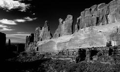 Park Avenue Giants - Arches National Park - Utah