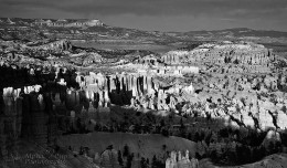 Sunset in Black & White - Bryce Canyon NP
