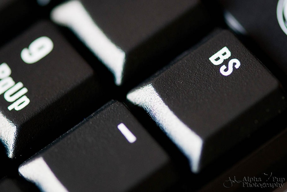 The BS Button - Every Keyboard in Every Office Needs One!