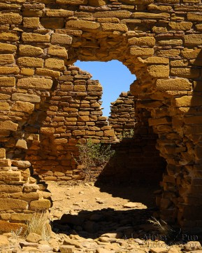 Brick Maze - Chaco Canyon National Historic Park - New Mexico