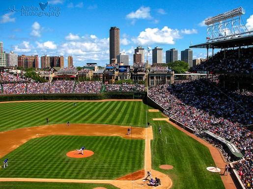 First Pitch - Wrigley Field - Chicago, IL