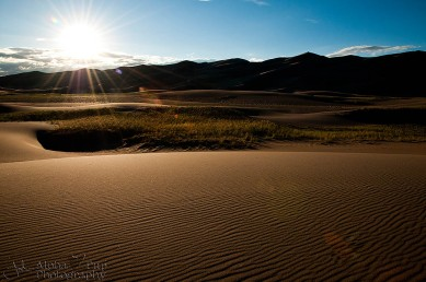 Sunset Ripples - Great Sand Dunes National Park - Colorado