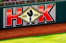 Tribute to Harry Kalas - Outfield Wall August 2009