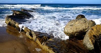 Waves - Jalama Beach - Central Coast California