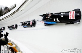 2012 World Championship-Clinching Bobsled Run - Team USA - Lake Placid, NY