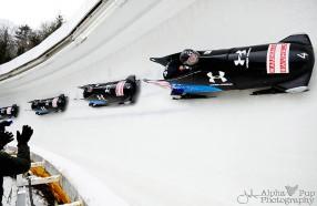 2012 World Championship-Clinching Bobsled Run - Team USA - Lake Placid, NY