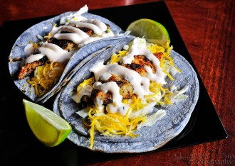 Fish Tacos at Mexicali Blue - New Paltz, NY