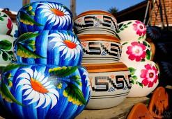 Flowered Flower Pots - San Diego, CA