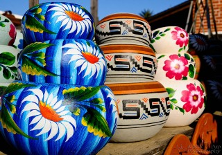 Flowered Flower Pots - San Diego, CA
