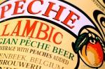 Peach Lambic Label