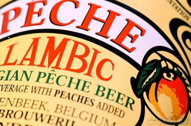 Peach Lambic Label