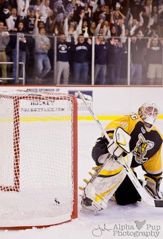 Penn State vs. American International College - Opening Night Men's Varsity Ice Hockey - PSU Scores!!