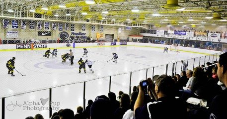 Last Club Game - Opening Face-off - PSU vs. Kent State - February 24, 2012