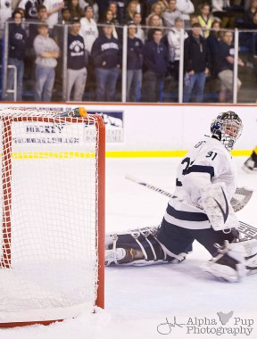 Penn State vs. American International College - Opening Night Men's Varsity Ice Hockey - Whistling Wide