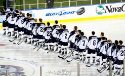 Penn State Hockey - National Anthem @ Citizens Bank Park - Philadelphia, PA