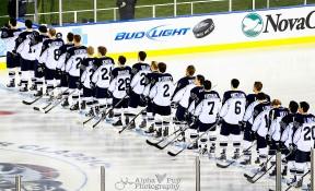 Penn State Hockey - National Anthem @ Citizens Bank Park - Philadelphia, PA