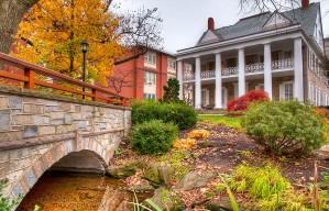 Autumn at The Hintz Family Alumni Center - Penn State - University Park, PA