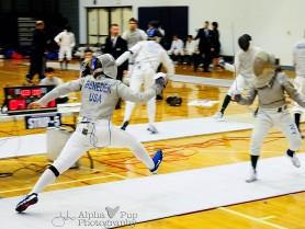 Penn State Fencing - Sabre Strike