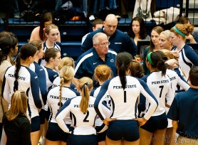 Penn State vs. Indiana University - Women's Volleyball - Time Out