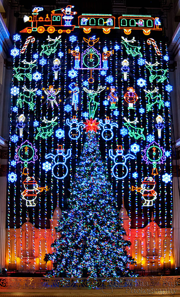 Wanamaker Christmas Light Show