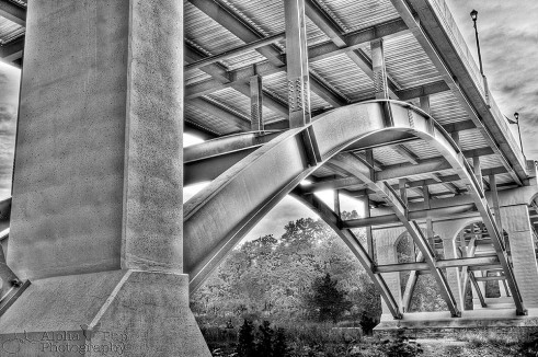 Under the Gay Street Bridge - Phoenixville, PA