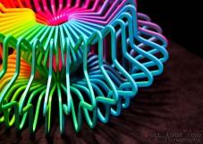 Rainbow Star Slinky