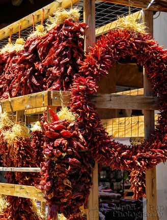 Red Chile Ristra - Santa Fe, New Mexico