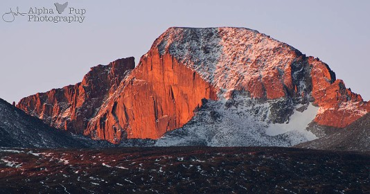 Longs Peak Sunrise - Rocky Mountain National Park