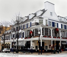 The Corner Room at Christmas - State College, PA