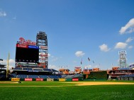 View from the Phillies' Dugout - Citizens Bank Park