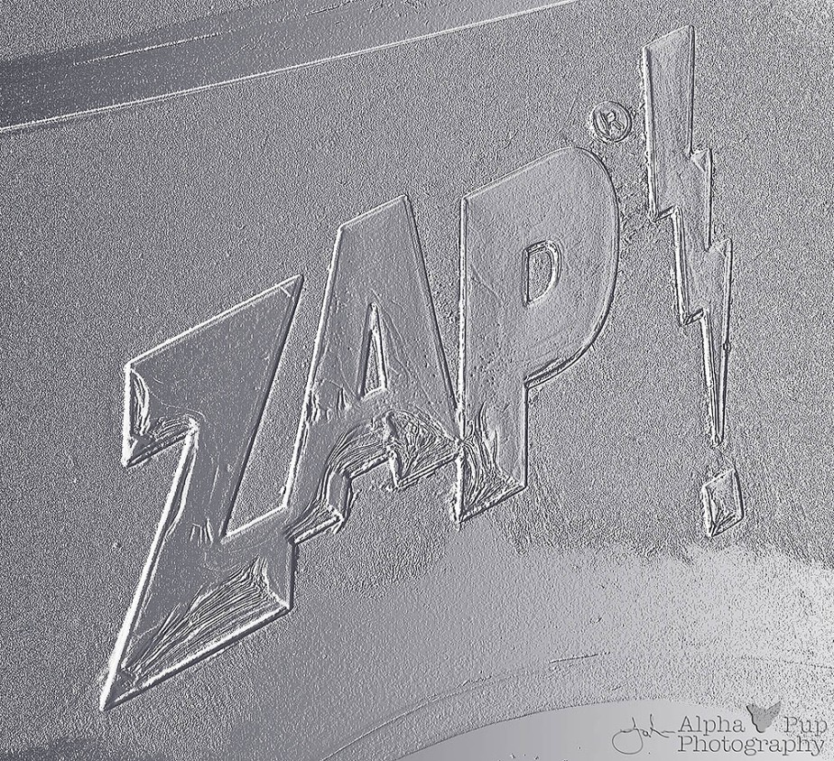 Zap! Car Logo - Spotted in Golden, CO