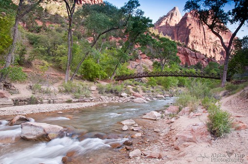 Virgin River Bridge - Zion NP