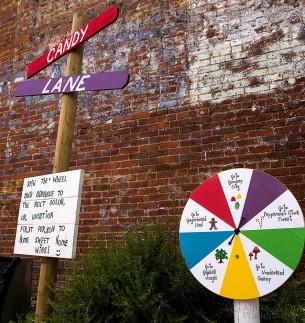 Candy Lane Starting Line