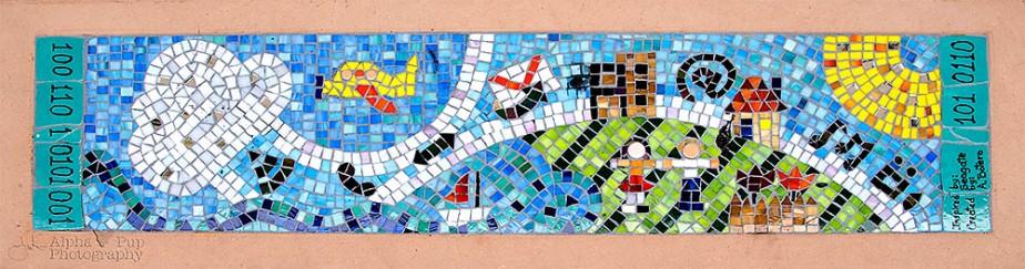Binary Bench Mosaic