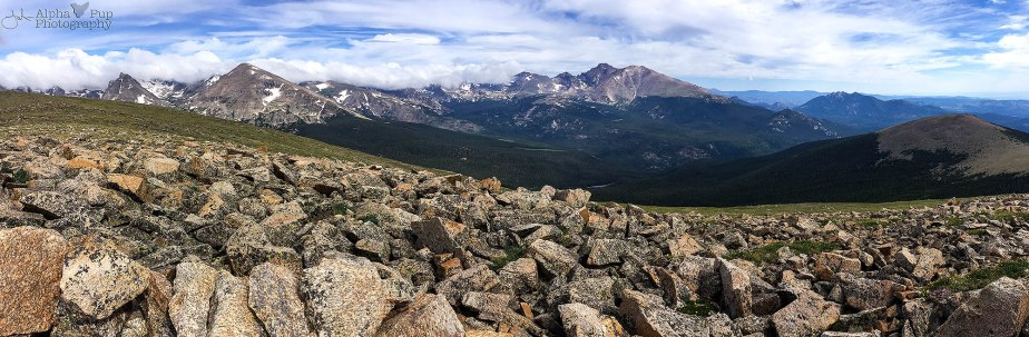 St. Vrain Mountain - Summit Panorama