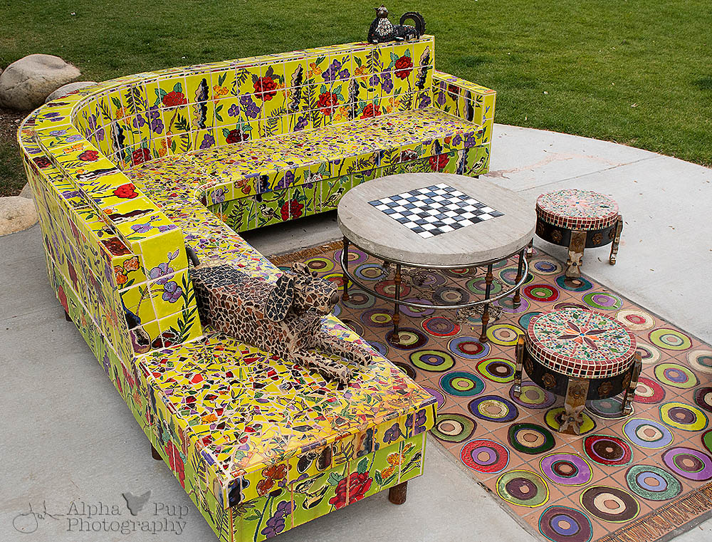 Outdoor Furniture Art Alpha Pup Photography