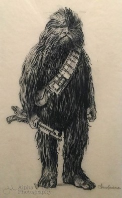 Chewy Evolves - Concept Art - A New Hope