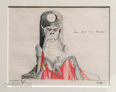 Early Jabba the Hut Concept Art - Return of the Jedi