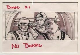 Luke, Han, & Chewy Storyboard - A New Hope