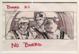Luke, Han, & Chewy Storyboard - A New Hope