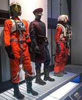 Luke's X-wing Pilot, Resistance Security, & Resistance Pilot Uniforms