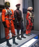 Luke's X-wing Pilot, Resistance Security, & Resistance Pilot Uniforms
