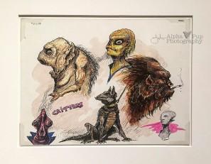 Monster Shop Art Concepts