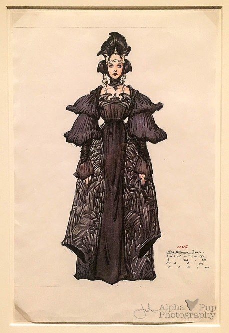 Queen Amidala Concept Art