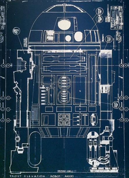 R2-D2 Blueprint