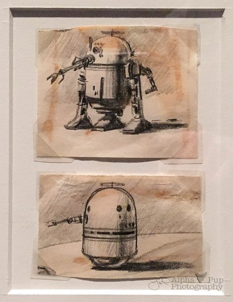 R2-D2 Early Concept Art - A New Hope