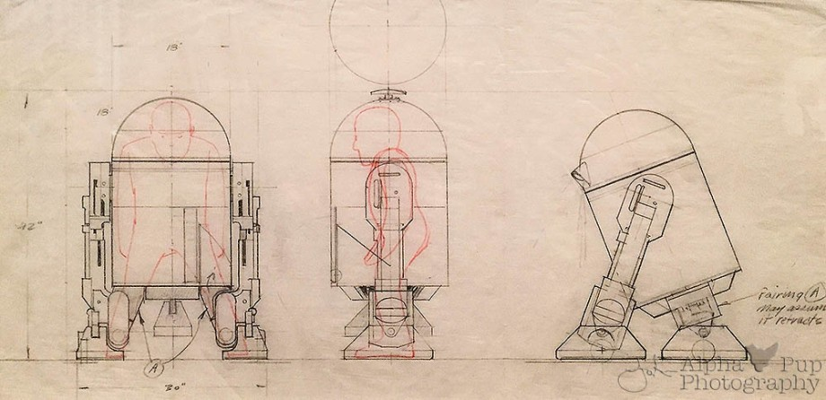 Operational R2-D2 Schematic - A New Hope